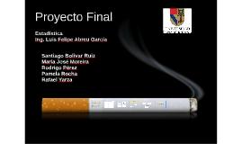 Estadística - Encuesta Fumar