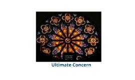 Ultimate Concern