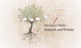Desiree's Baby - Hannah and Winnie