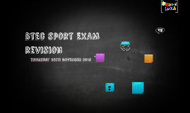 Copy of Marriotts school revision - BTEC First Award Sport Unit 1 Exam revision