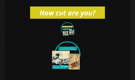How cut are you?