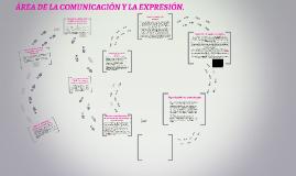 ÁREA DE LA COMUNICACIÓN Y LA EXPRESIÓN.