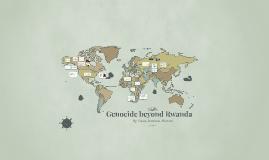 Genocide beyond Rwanda