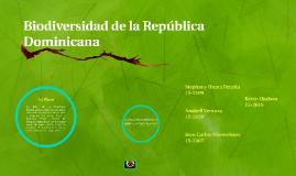 Biodiversidad de la República Dominicana