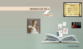 Copy of Copy of HERNÈUTICA