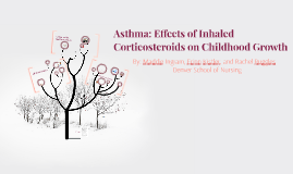 Asthma: The Effects of Corticosteroids on Childhood Growth
