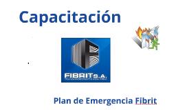 Copy of CAPACITACIÓN PLAN DE EMERGENCIA