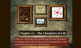 Chapter 2A - The Chemistry of Life (Lecture)