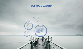 puertos de audio