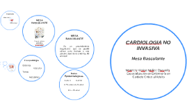 CARDIOLOGIA NO INVASIVA