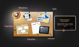 INSTALACIONES ELECTRICAS: diagrama unifilar, vida util, uso