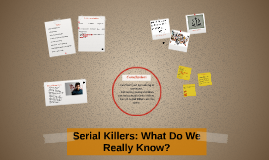 Serial Killers: What Do We Know?
