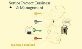 Senior Project: Business