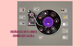 ENSEÑANZAS DE EL LIBRO EL HOMBRE QUE CALCULA.
