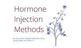 Hormone Injection Method