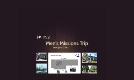 Men's Missions Trip 2018