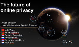 The future of online privacy