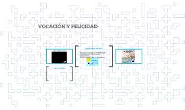 VOCACION Y FELICIDAD 11A