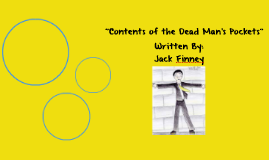 """""""Contents of the Dead Mans Pocket"""" characterization project"""