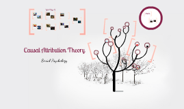 Copy of Causal attribution theory