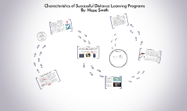 Characteristics of Successful Distance Learning Programs