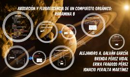 Copy of Absorción y fluorescencia en un pigmento orgánico:Rodamina