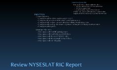 Ovals & NYSESLAT Data