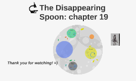 disappearing spoon summary The disappearing spoon sunday, january 31, 2016 chapter 11 summary and reflection in chapter 11, kean talks about how.