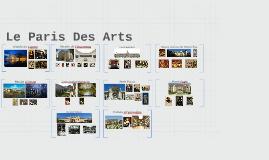 Copy of Le Paris Des Arts