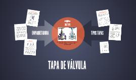 TAPA DE VÁLVULA