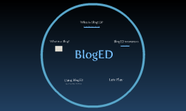 Copy of BlogED