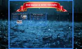 Red Baron & WWI Aircrafts