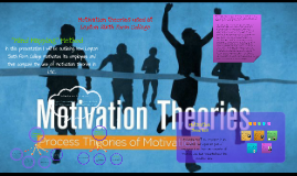 Copy of The use of motivation theories in an organisation