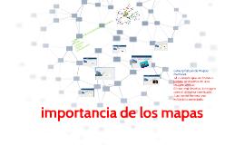 importancia de los mapas