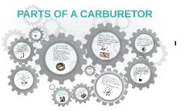PARTS OF A CARBURETOR