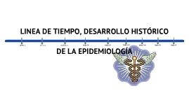 Copy of LINEA DE TIEMPO DESARROLLO HISTÓRICO DE LA EPIDEMIOLOGIA