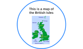 This is a map of the British Isles