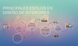 Copy of PRINCIPALES ESTILOS EN DISEÑO DE INTERIORES