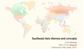 Southeast Asia themes and concepts