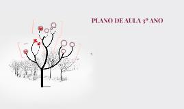 PLANO DE AULA 3º ANO