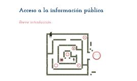 Copy of Acceso a la información Pública