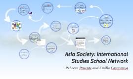 Asia Society: International Studies School Network