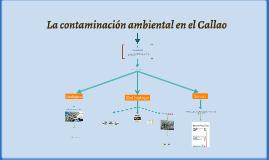 La contaminación ambiental en el Callao