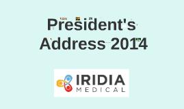 President's Address 2014
