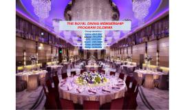 Copy of THE ROYAL DINING MEMBERSHIP PROGRAM DILEMMA