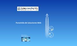 Portafolio de Soluciones Web a la medida SYSTEMS CONSULTING SAS. Desarrollando Soluciones Hacia la Era de la Imaginación