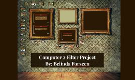 Belinda's Filter Project