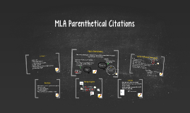 Copy of MLA Citations Mini Lesson
