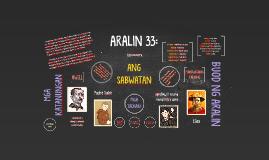 Copy of ARALIN 33: Kabanata LV