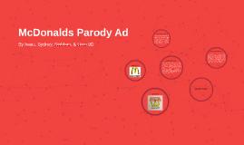 McDonalds Parody Ad
